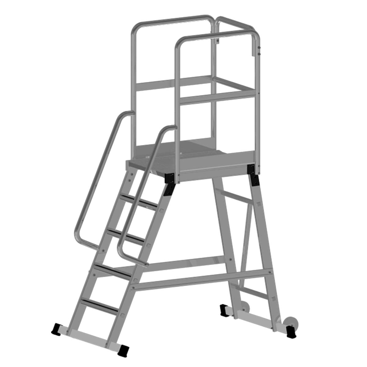 Mobile Work Platforms Single Amp Double Sided Access